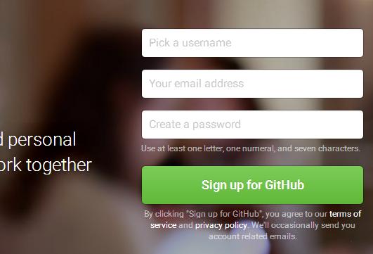GitHub注册